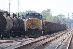 CSX 4696 w/ a Welded Rail Train